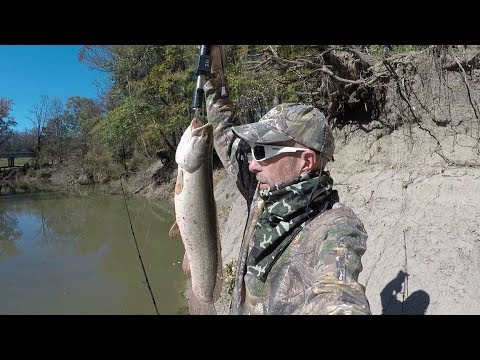 Fishing The Sabine River, Winter Methods, Catfish And Bowfin