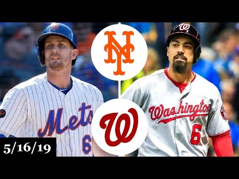 New York Mets vs Washington Nationals - Full Game Highlights | May 16, 2019 | 2019 MLB Season