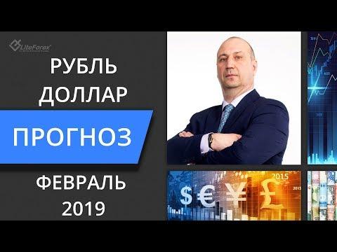 Прогноз курса российского рубля на февраль