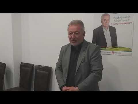 Θεσπρωτία: Οι πρώτες δηλώσεις του Γιάννη Λώλου για την επανεκλογή του στο Δήμο Ηγουμενίτσας (+βίντεο)