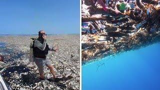Ein Meer voller Plastik: Diese Bilder tun richtig weh