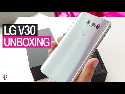 LG V30 Unboxing, Phone Specs & Camera Review | T-Mobile & ASKDES