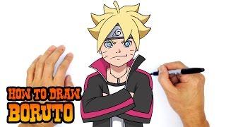 How to Draw Boruto | Naruto Shippuden