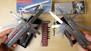 Victorinox SwissTool X (Plus) vs. Spirit // Multitool (deutsch)