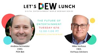 Let's DEW Lunch Webinar with FOX Bet (June 16, 2020)
