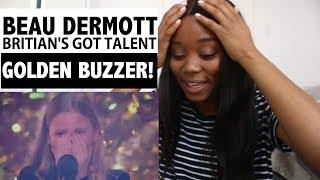 BEAU DERMOTT - Britain's Got Talent 2016 - GOLDEN BUZZER - Reaction!