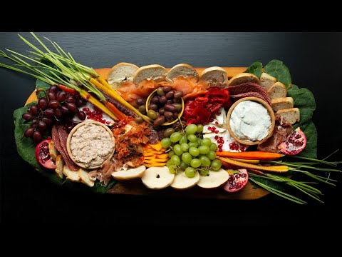 How To Make A New Year's Grazing Board Ft. 8 Foods To Bring Luck • Tasty