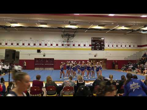 Webster Schroeder High School  Monroe County Cheerleading February 2018