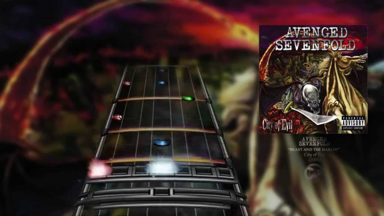 Avenged Sevenfold Beast And The Harlot Drum Chart Youtube
