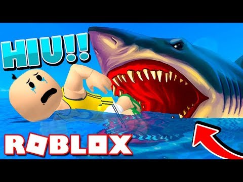upin-dimakan-hiu-megalon-di-pulau-terpencil!!