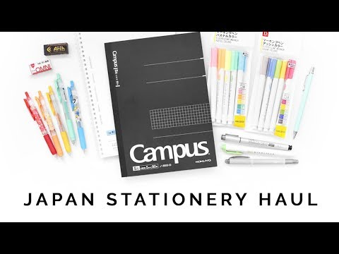 Japan Stationery Haul 🎌 I Spent So Much On This Trip Lol