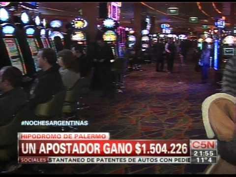 C5N - SOCIEDAD: UN APOSTADOR GANO MAS DE 1.500.000 DE PESOS EN EL HIPODROMO DE PALERMO