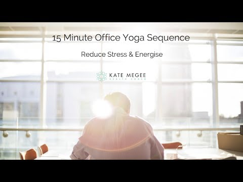 15 minute office yoga sequence