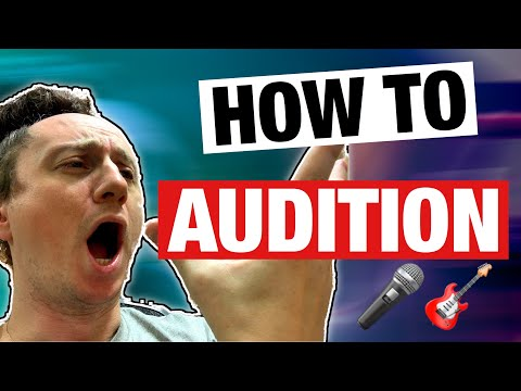 How To Audition | Musician Audition Tips (this works)