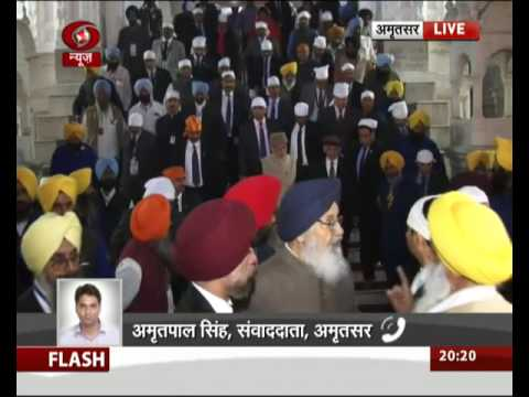 PM Modi & Afghan President visit Golden Temple before Heart of Asia Summit