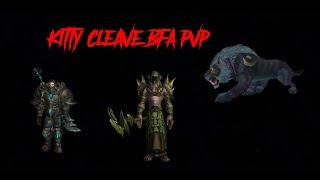 Feral Druid Kitty cleave WoW BFA Season 1 PVP