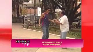 Te Peguei na TV: Falso pitbull fugitivo assusta pedestres