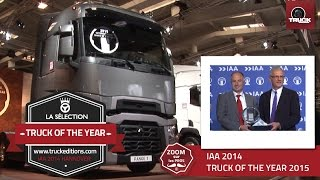 Truck of the Year 2015 : victoire évidente pour le T RENAULT TRUCKS