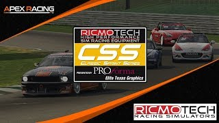 iRacing | Ricmotech Classic Sprint Series | Round 10 at Sebring
