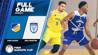 Apoel Nicosia v Sigal Prishtina - Full Game - FIBA Europe Cup 2019-20