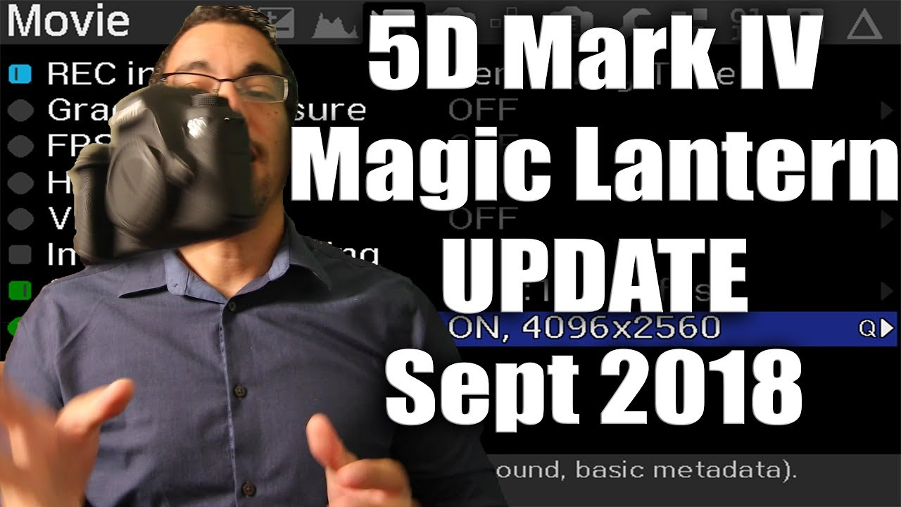 Magic Lantern update for 5D Mark IV? What's going on?