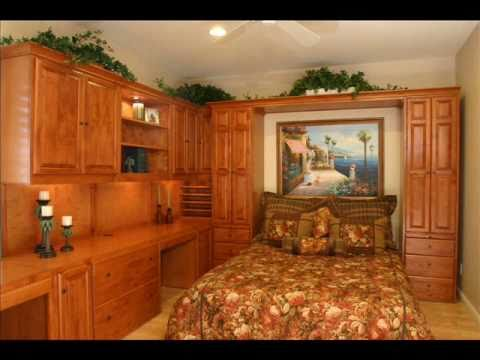 Wall Bed Murphy Bed Home Office - YouTube