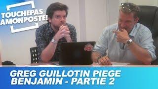 Greg Guillotin piège Benjamin Castaldi dans TPMP - Partie 2