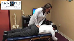 Amazing Back Pain Relief With A Chiropractic Adjustment