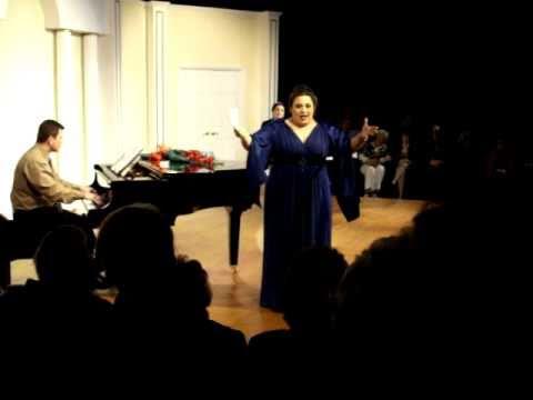 Lucia Palmieri as Sharon in Terance McNally's Mast...