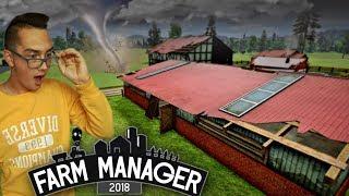 Odbudowa Gospodarstwa po Huraganie  Farm Manager 2018 - Rozdział I ✔ MafiaSolec