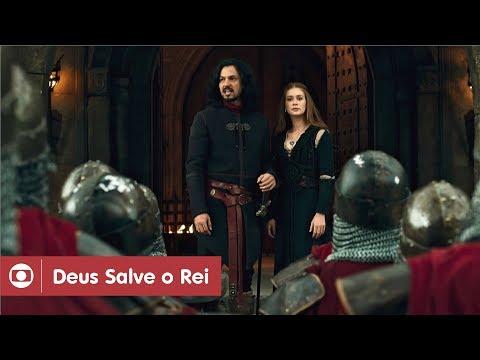 Deus Salve O Rei: capítulo 106 da novela, sexta, 11 de maio, na Globo