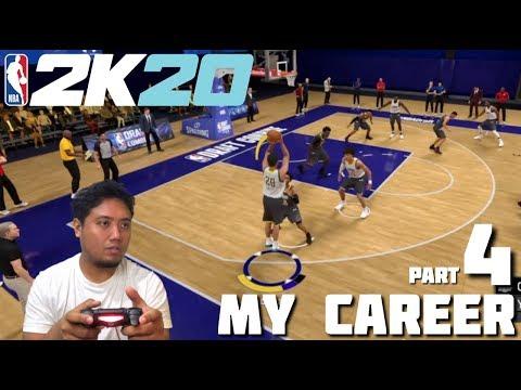 NBA 2K20 My Career Part 4 PS4 Gameplay - jccaloy