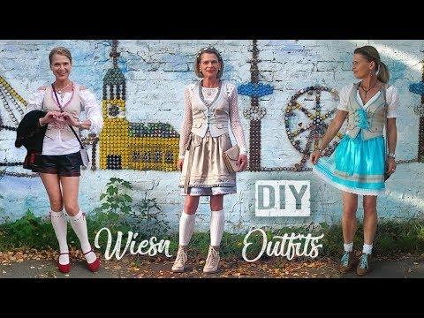 Diy Drei Oktoberfest Outfits Zum Selbermachen Never2late