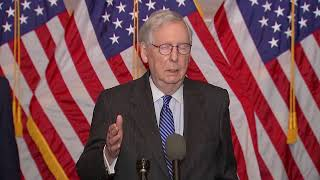 LIVE: Senate Majority Leąder Mitch McConnell speaks as COVID relief negotiations continue