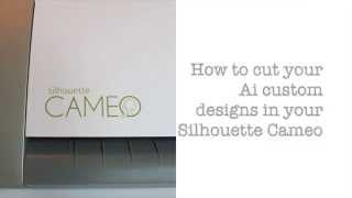 How to export artwork from Illustrator to Silhouette Studio