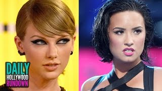 Taylor Swift Drug Rumor? - Demi Fires Back At Pink For VMA DISS (DHR)