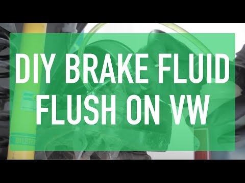 How to Bleed & Flush the Brake Fluid on your VW