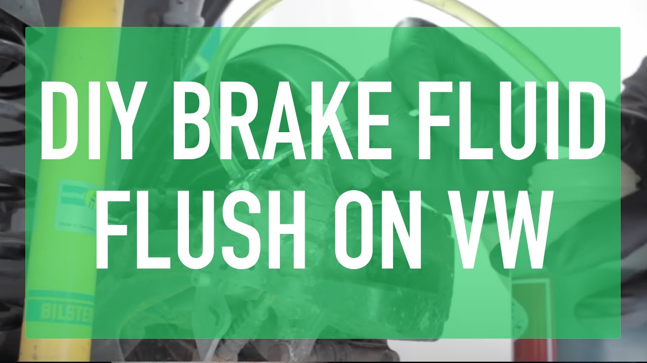 How To Bleed Flush The Brake Fluid On Your Vw Youtube Diagram 2002 Jetta Vr6 24v Engine