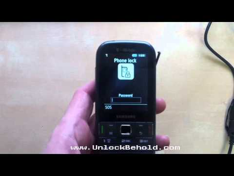 T379 Samsung Gravity TXT Read Phone Lock Password