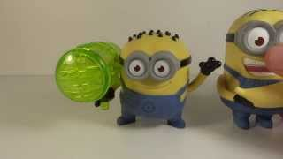 McDonalds Despicable Me 2 Minion Jerry Whizzer Whistle Toy Review