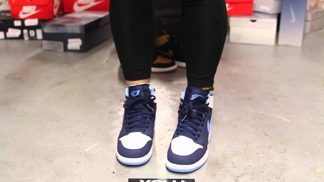 7db05421284e36 Ladies Air Jordan 1 High Retro