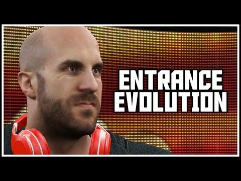 WWEGames Cesaro Entrance Evolution! (WWE 13 - WWE 2K16)