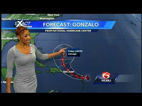 Tracking the Tropics: National Hurricane Center tracking Hurricane Fay, Tropical Storm Gonzalo