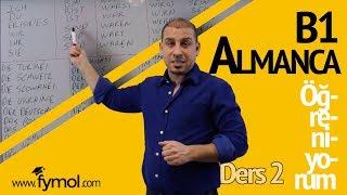 B1 Almanca Öğreniyorum Ders  2 | Online Almanca Kursu