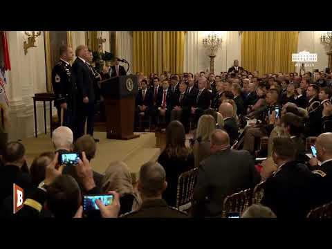 President Trump Presents Medal of Honor to Green Beret