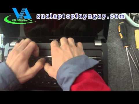 Hướng dẫn tự tháo máy tính xách tay laptop HP CQ 42 CQ42 CQ42-100 G42-300 CQ42-200