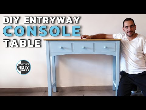 How to build a DIY Console Table | Hall Table | Entry Table at your Balcony :)