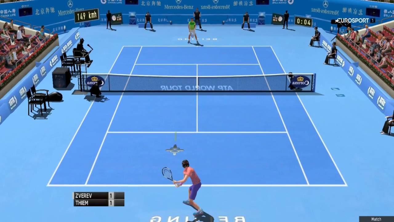Thiem vs Zverev | ATP China Open 2016 Beijing | Tennis ...