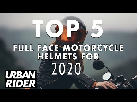 TOP 5 Retro Full Face Motorcycle Helmets For 2020