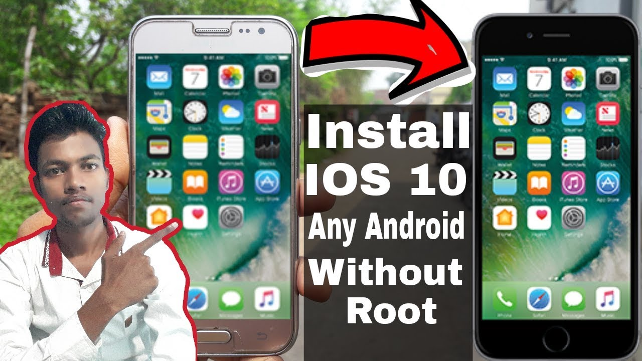 How To Install IOS 10 In Any Android/Galaxy J2    Without Root